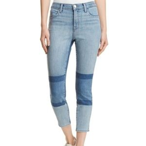 J Brand High Rise Ankle Skinny Jeans